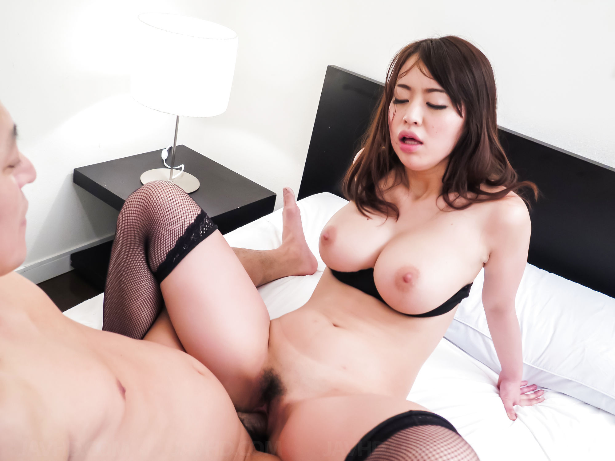 Ruri haruka shows off riding her new toy cock 5