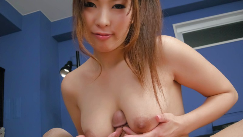 Cute And Busty Japanese MILF Ami Kurosawa Titfuck Pic